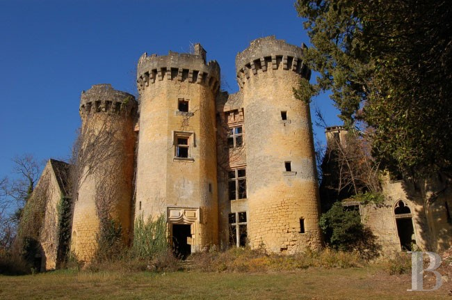 medieval ruins for sale in france
