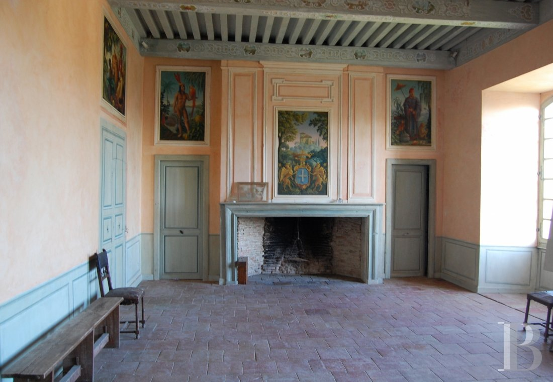 chateaux a vendre midi pyrenees chateau medieval - 5