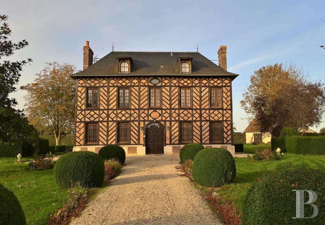 France mansions for sale upper normandy risle normandy - 1