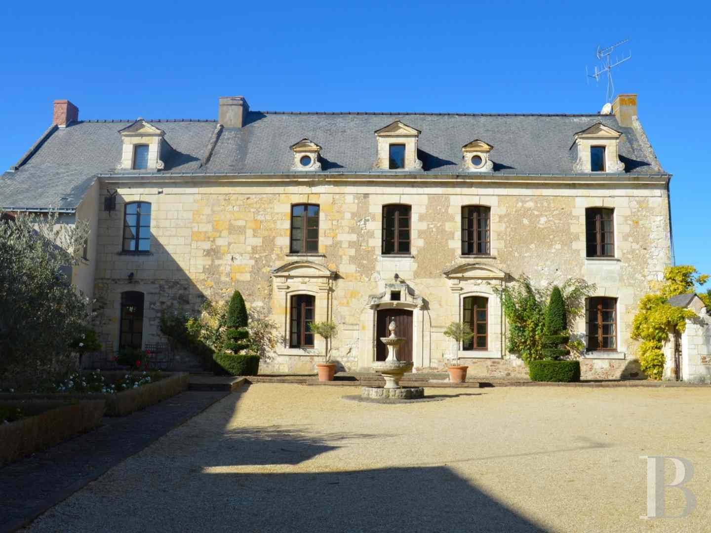 France mansions for sale pays de loire manor house - 1 zoom