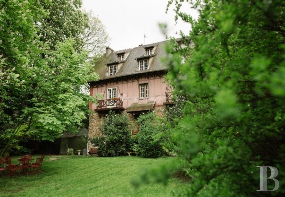 An Anglo-Norman mansion on the Île aux loups (island of wolves), near to Paris on the banks of the Marne - photo  n°8