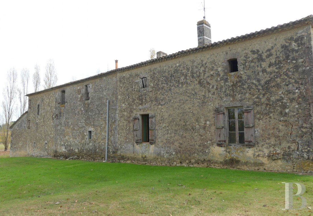 ruins for sale France aquitaine bordeaux vineyard - 1