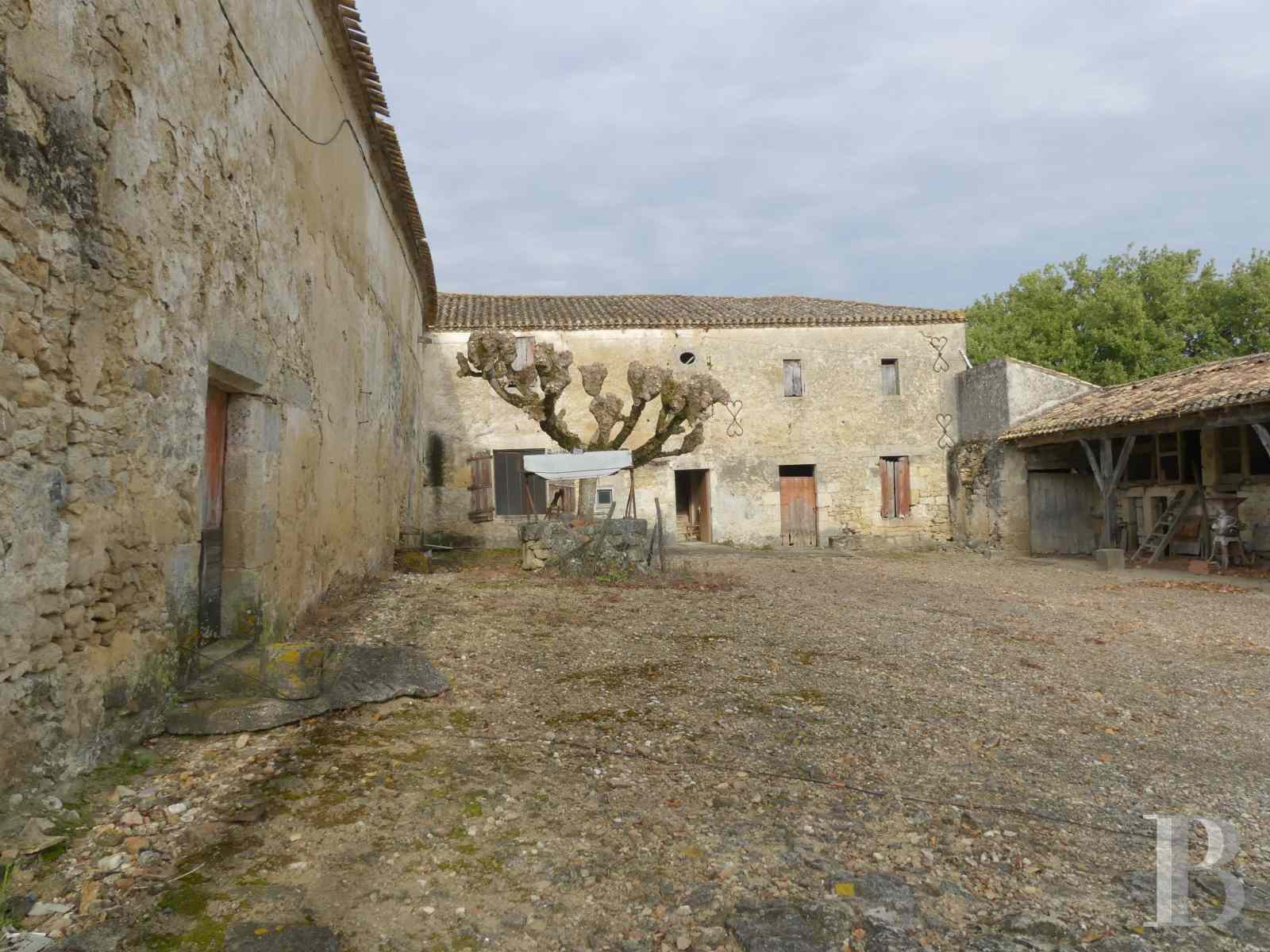 ruins for sale France aquitaine bordeaux vineyard - 2 zoom