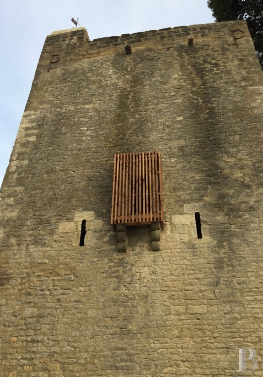 fA thousand-year-old tower with a contemporary feel in the heart of Gard, not far from Uzès - photo N°5
