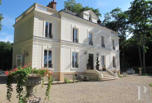 chateaux for sale France ile de france hunting lodge - 3