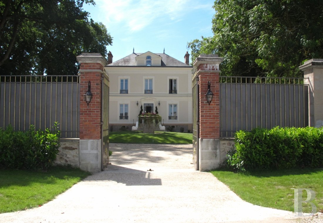 chateaux for sale France ile de france hunting lodge - 13