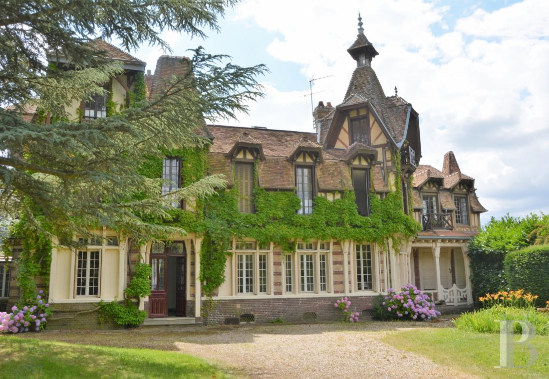 France mansions for sale upper normandy   - 1