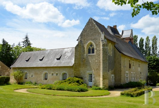 France mansions for sale pays de loire manors for - 16