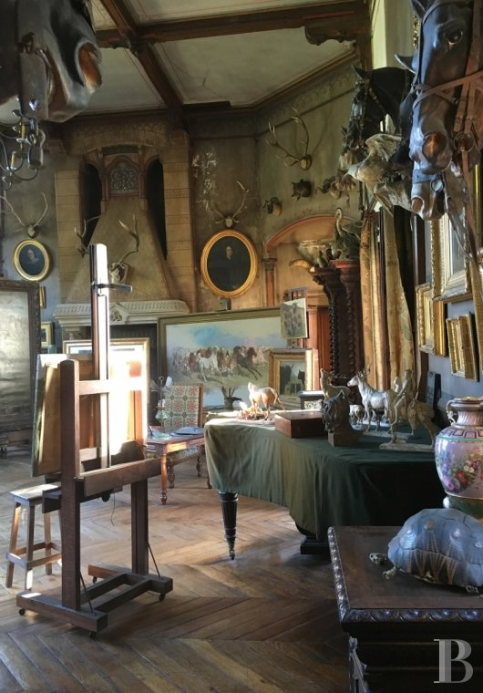 The Rosa Bonheur chateau filled with memories of the artist  at the edge of the Fontainebleau forest  - photo  n°13