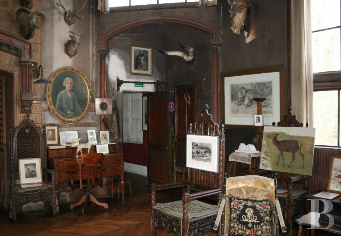 The Rosa Bonheur chateau filled with memories of the artist  at the edge of the Fontainebleau forest  - photo  n°23