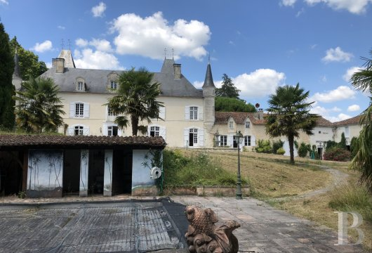 chateaux for sale France aquitaine castles chateaux - 21
