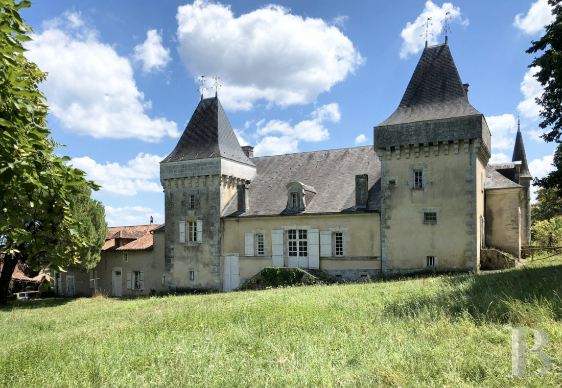 chateaux for sale France aquitaine castles chateaux - 1 mini