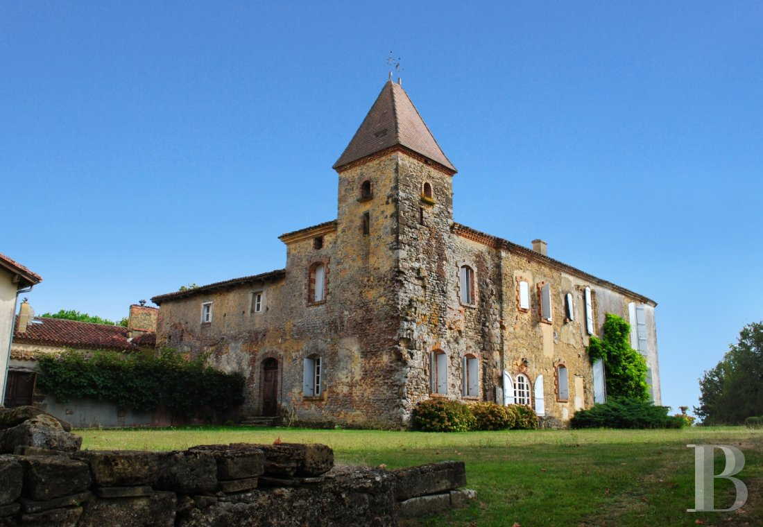 chateaux for sale France midi pyrenees   - 1