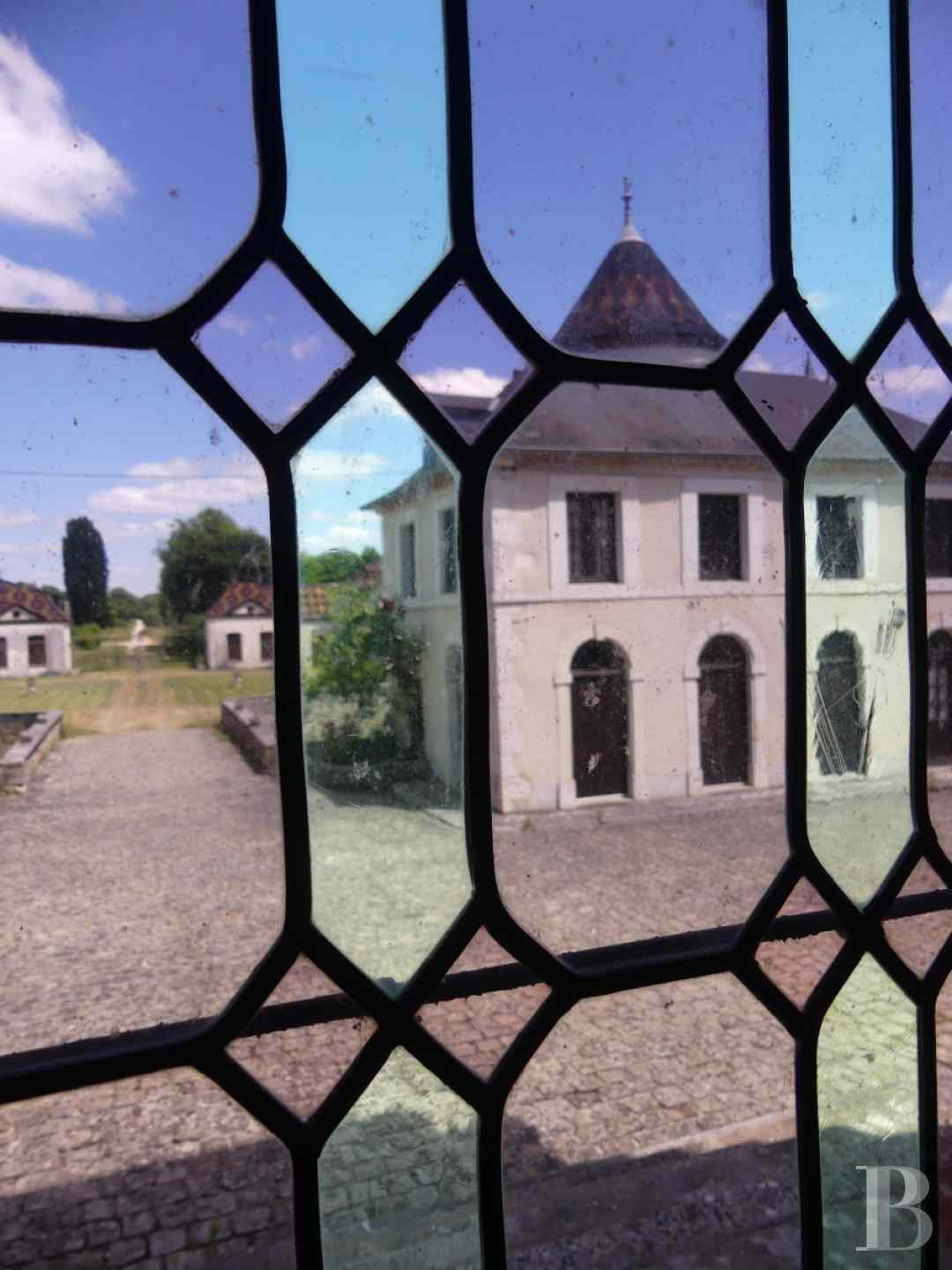 chateaux a vendre bourgogne chateau domaine - 3 zoom