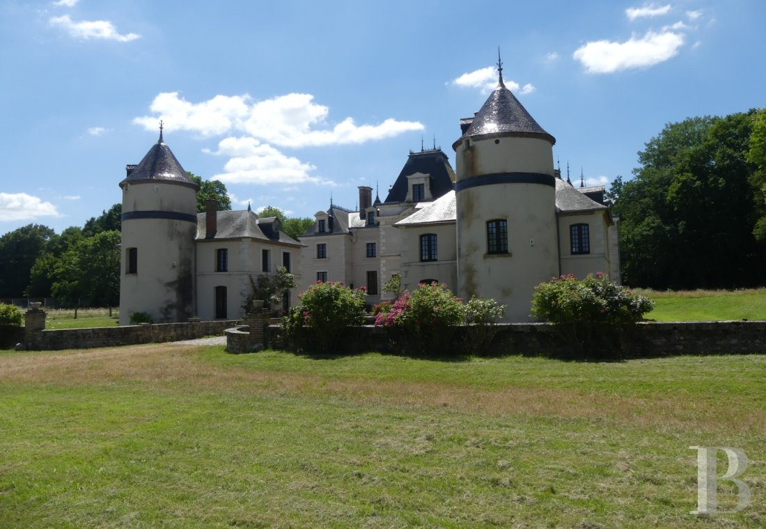 chateaux for sale France burgundy castles chateaux - 1
