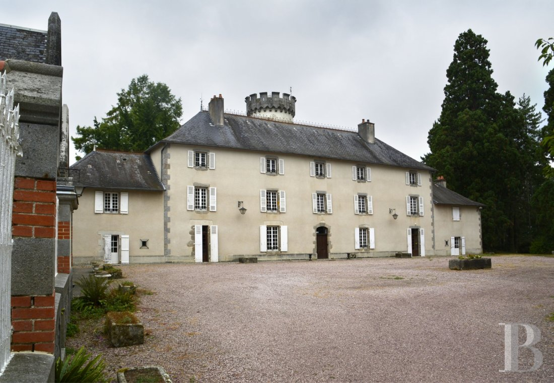 chateaux for sale France limousin castles chateaux - 1