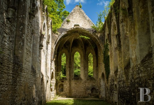 fA stirringly beautiful 13th century Cistercian abbey in the south-east of Rouen - photo N°16