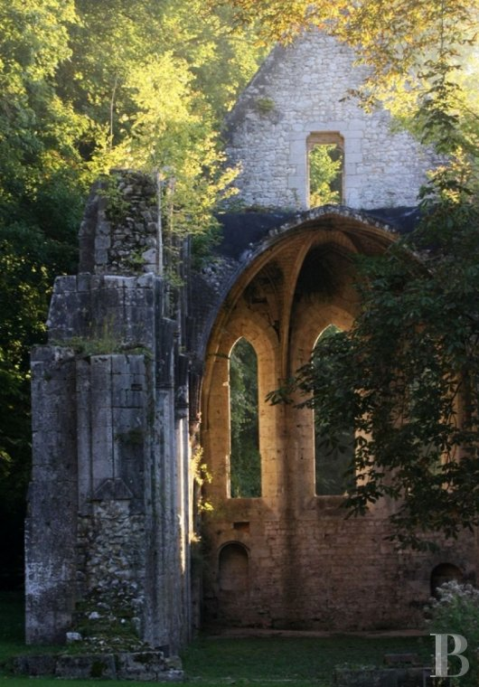 A stirringly beautiful 13th century Cistercian abbey in the south-east of Rouen - photo  n°14
