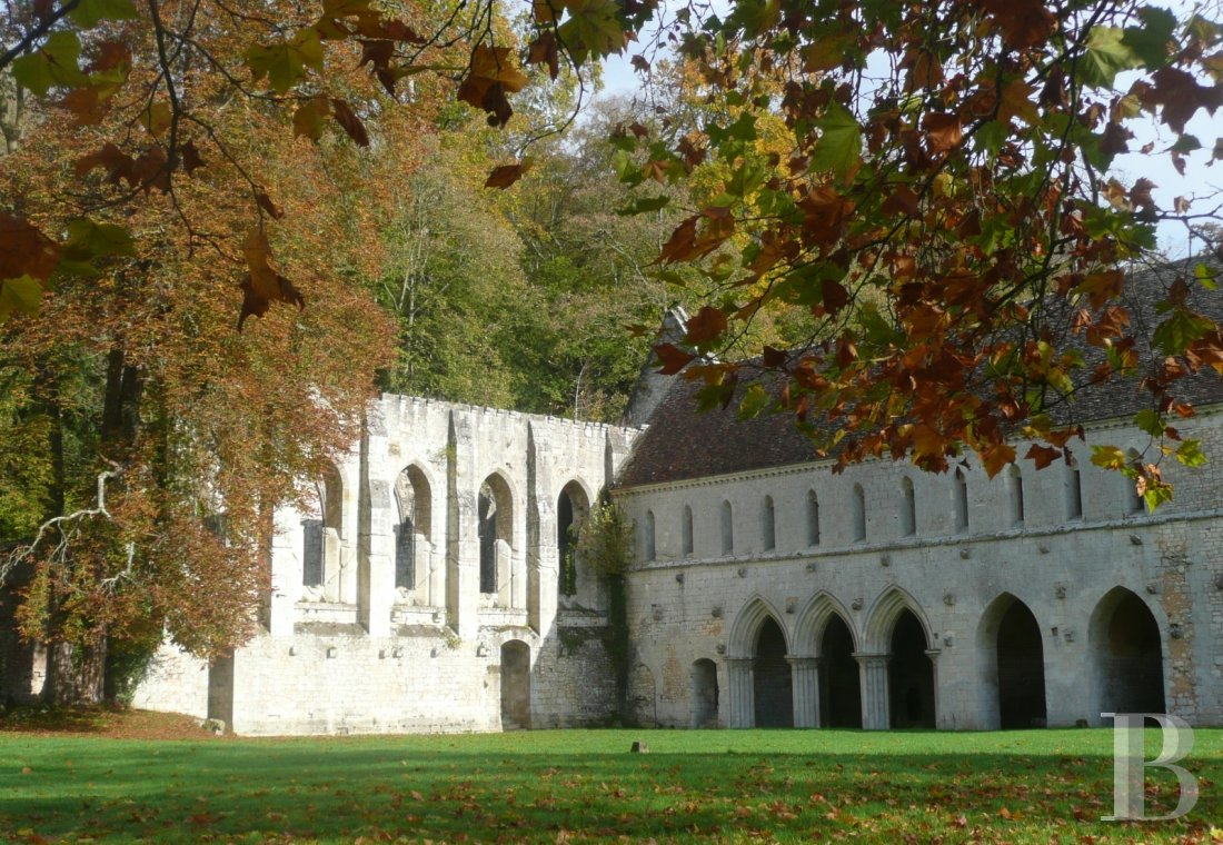 A stirringly beautiful 13th century Cistercian abbey in the south-east of Rouen - photo  n°6