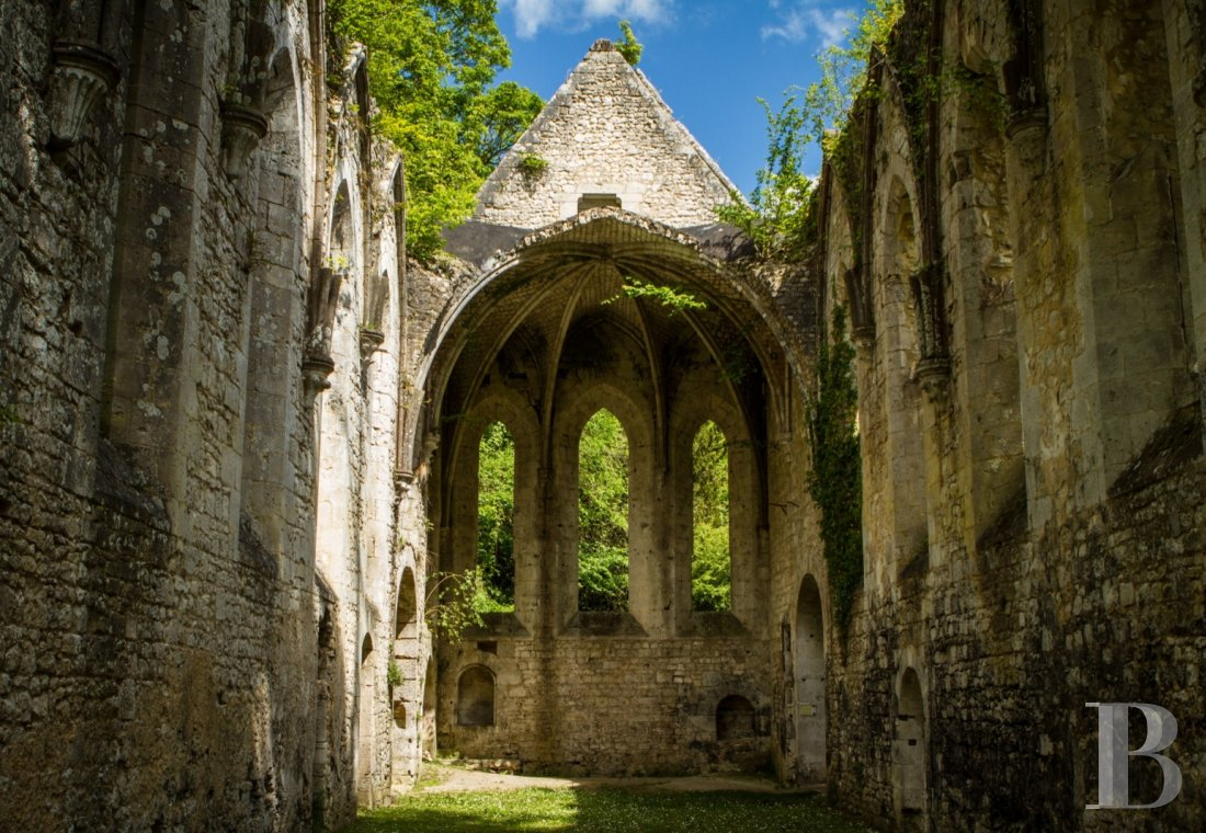 A stirringly beautiful 13th century Cistercian abbey in the south-east of Rouen - photo  n°17