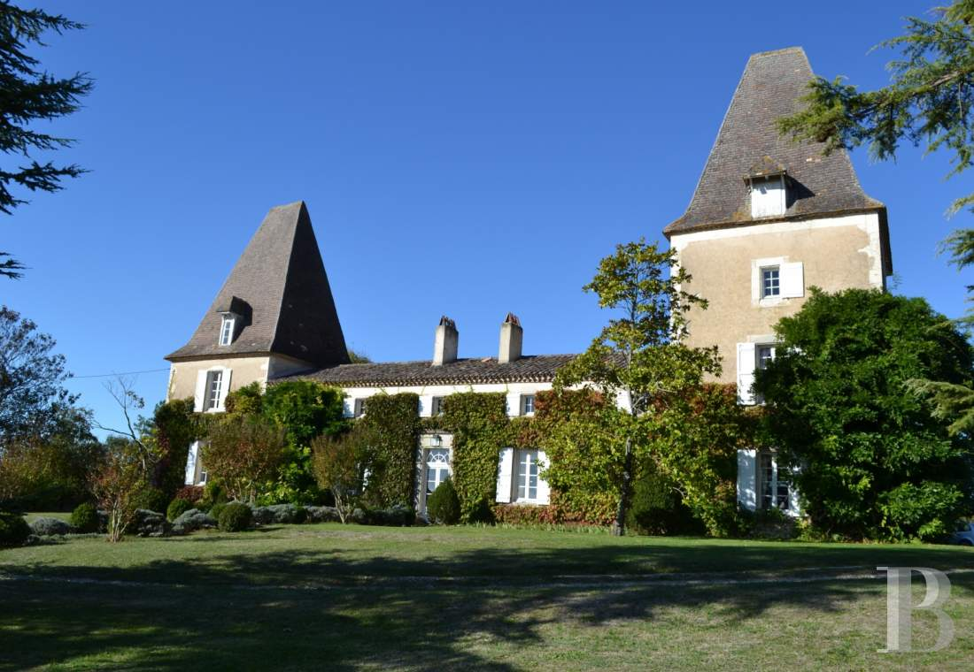 chateaux for sale France aquitaine castles chateaux - 1