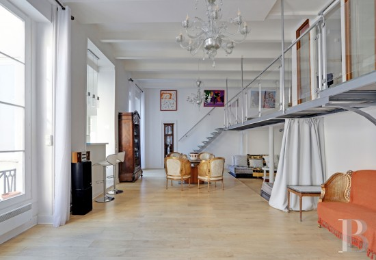 appartments for sale - paris - A 123 m², open-plan flat, in pristine condition  in a 17th century building in the Montorgueil district