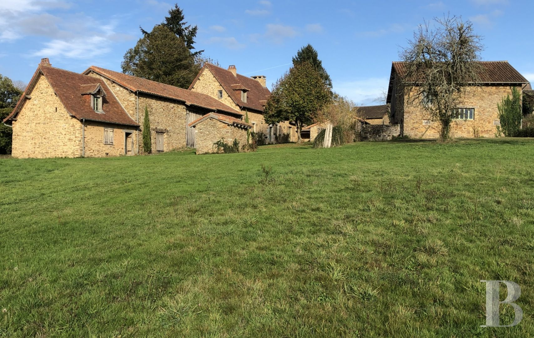 french farms for sale aquitaine character houses - 13 zoom