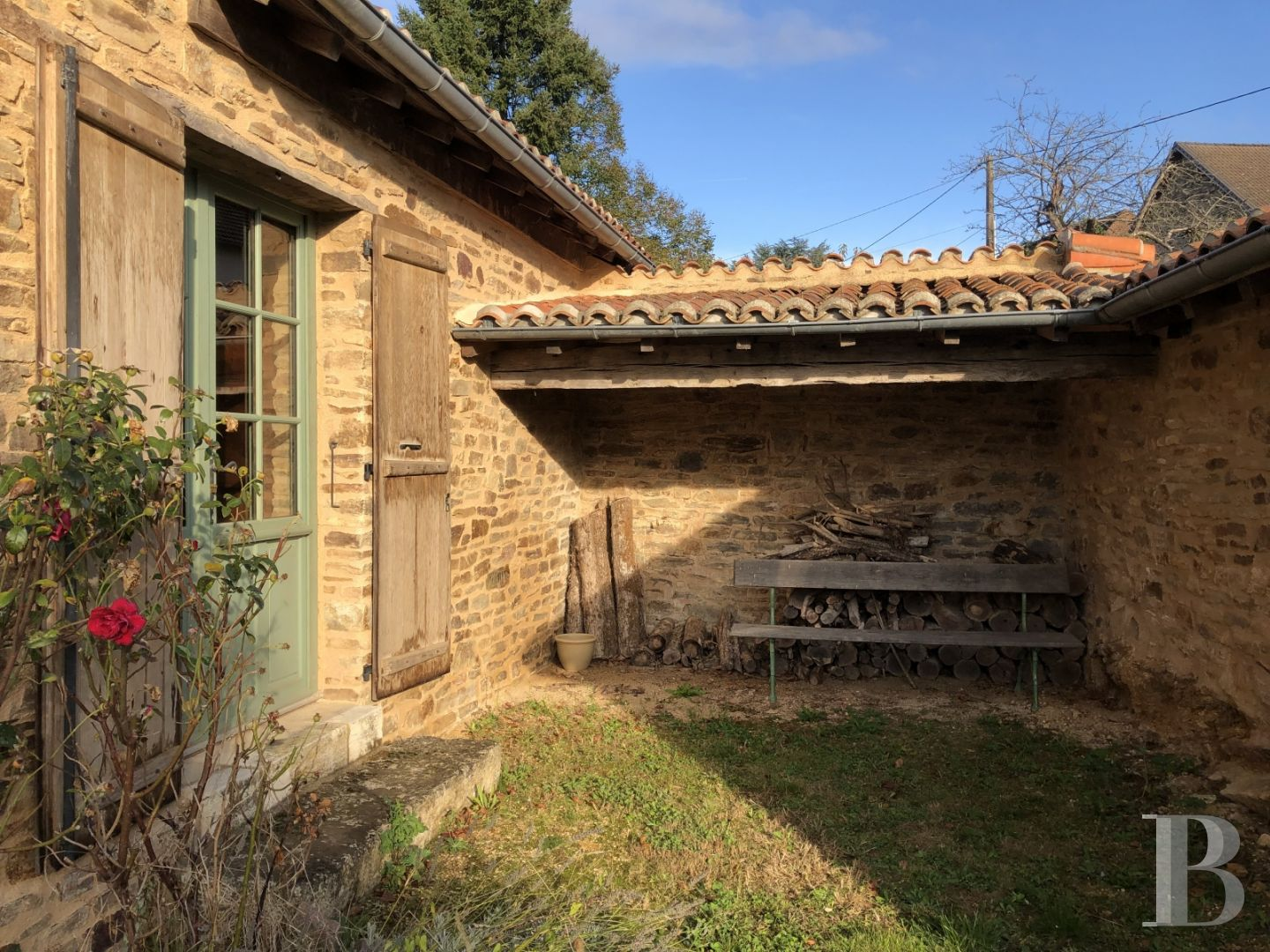 french farms for sale aquitaine character houses - 8 zoom