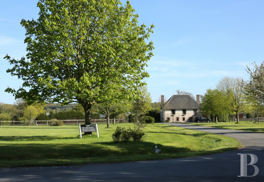 France mansions for sale lower normandy manors equestrian - 10