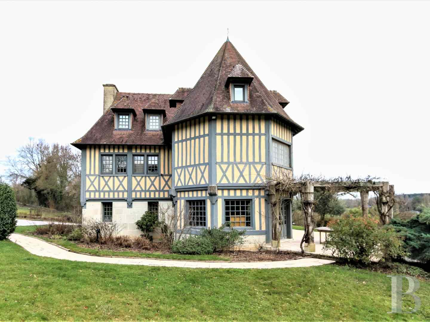 France mansions for sale lower normandy manors equestrian - 4 zoom