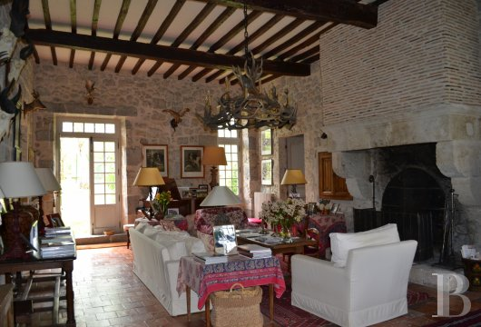 chateaux for sale France aquitaine   - 11