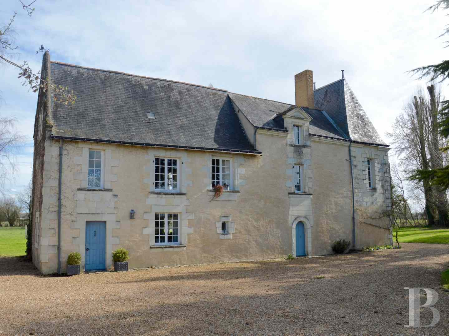 France mansions for sale pays de loire manors for - 2 zoom