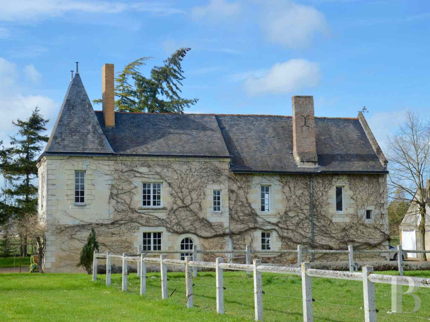 France mansions for sale pays de loire manors for - 4 zoom