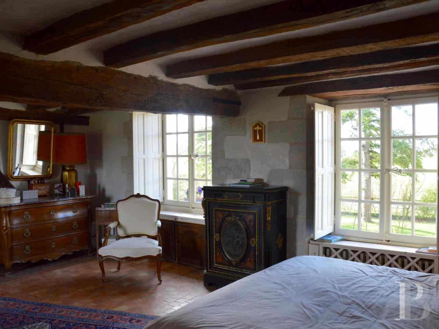 France mansions for sale pays de loire manors for - 7 zoom