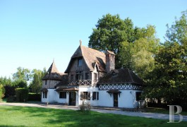 Manors for sale - upper-normandy - In Eure, Anglo-Norman-style manor house from the Napoleon III period