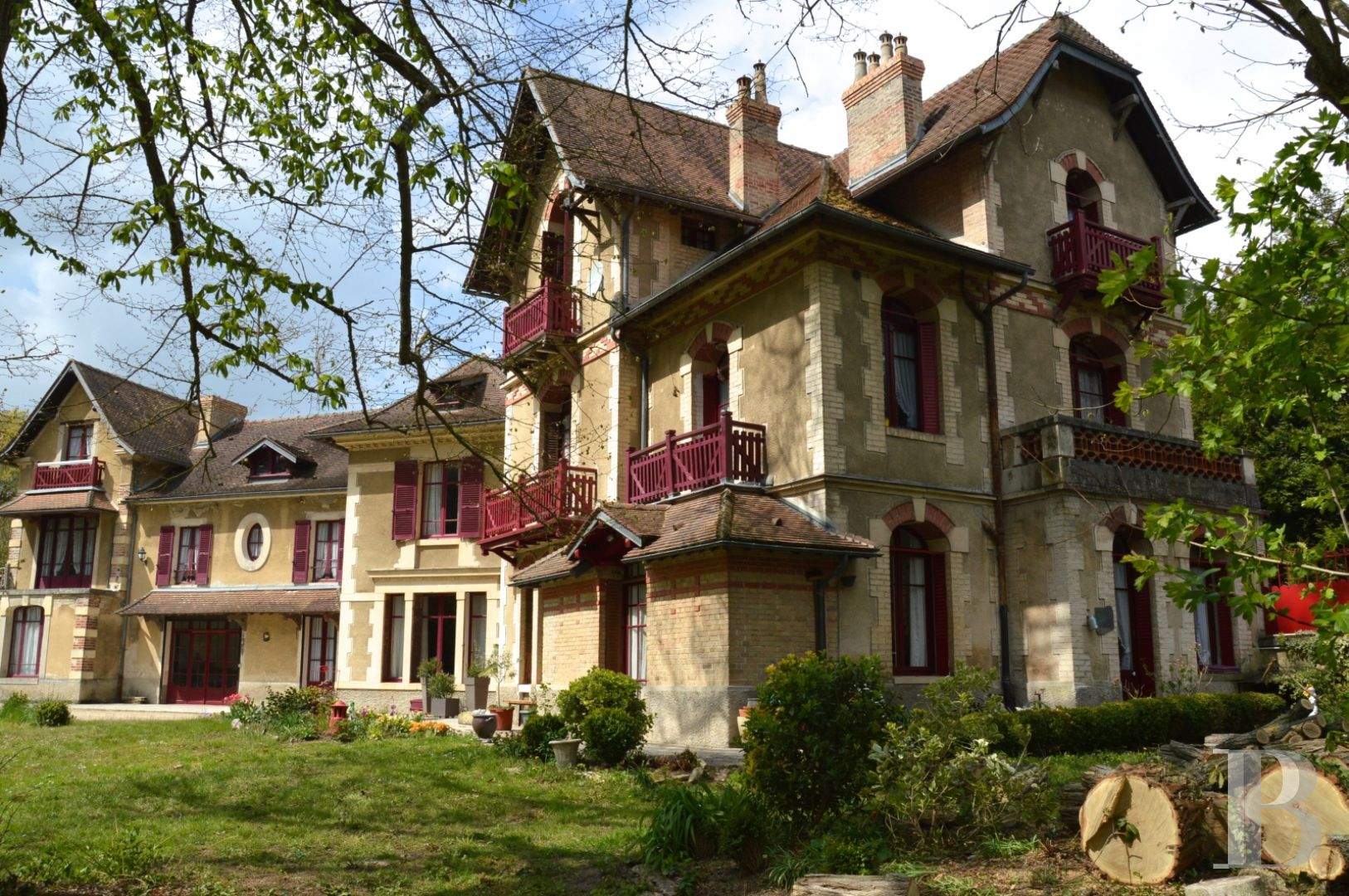 France mansions for sale champagne ardennes manors 20th - 1 zoom