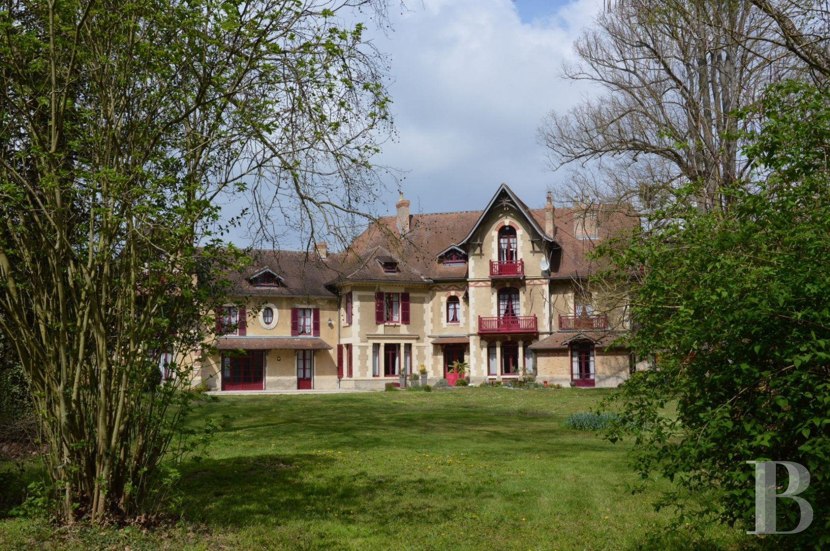 France mansions for sale champagne ardennes manors 20th - 2 zoom