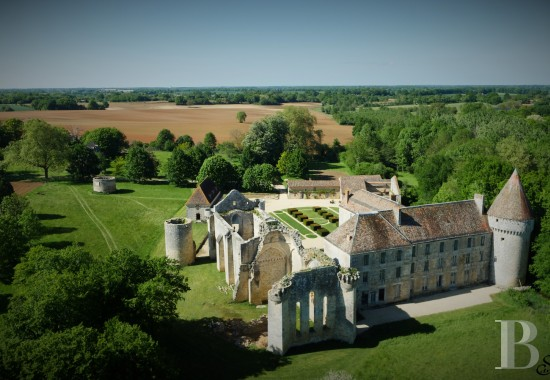 Historic buildings for sale - poitou-charentes - A listed, 12th & 18th century abbey, with woods, meadows and a river, 45 km from Poitiers