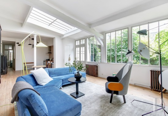 Houses for sale - paris - An authentic, rehabilitated workshop opening on to a private garden  just as stone's throw from the Père-Lachaise district, near to Place-Auguste-Métivier