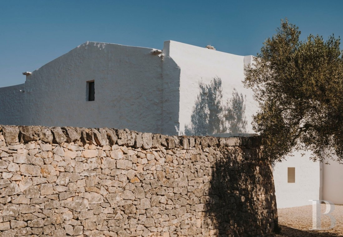 A «masseria» with guest rooms in the middle of an olive grove in Puglia, not far from Ostuni - photo  n°4