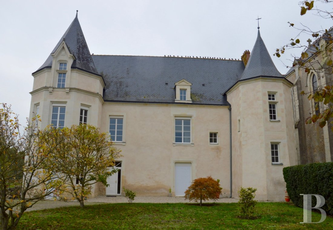 monastery for sale France pays de loire religious edifices - 1
