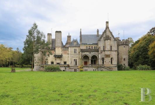 chateaux for sale France lower normandy castles chateaux - 3