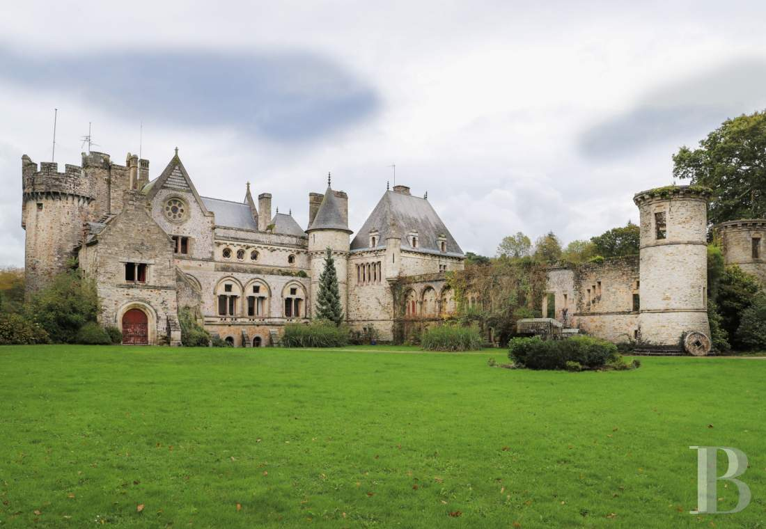chateaux for sale France lower normandy castles chateaux - 2