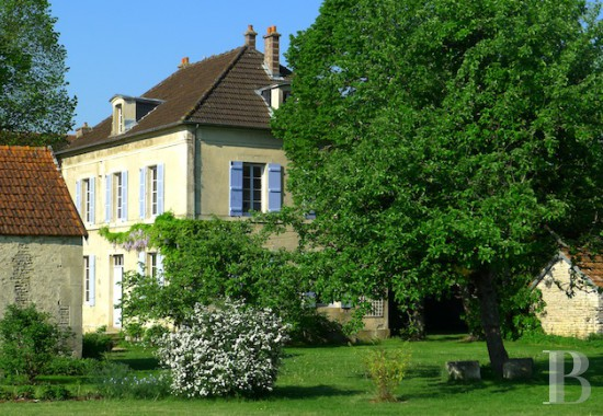 monastery for sale France burgundy property charm - 1