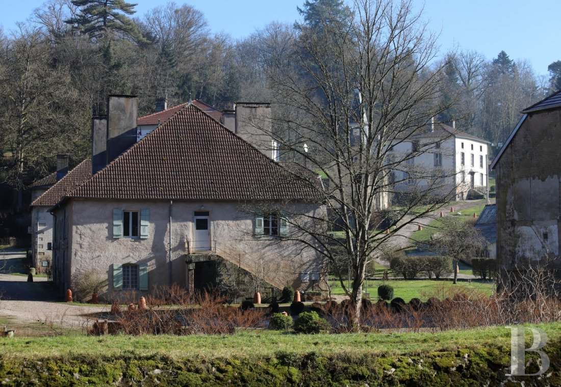 A 18th century royal factory now surrounded by nature between river and forest, to the south of Lorraine - photo  n°20