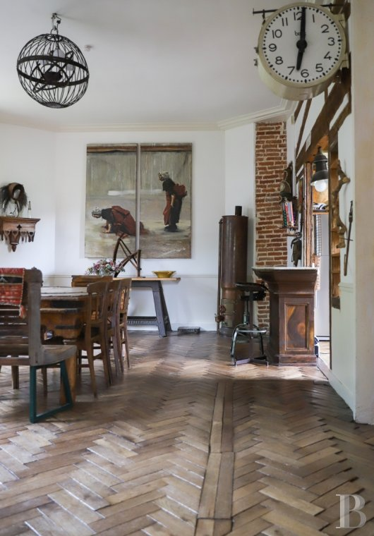 Character houses for sale - paris - A 240 m², former hunting lodge, dating from the 18th century,  in the Lozère district of Palaiseau