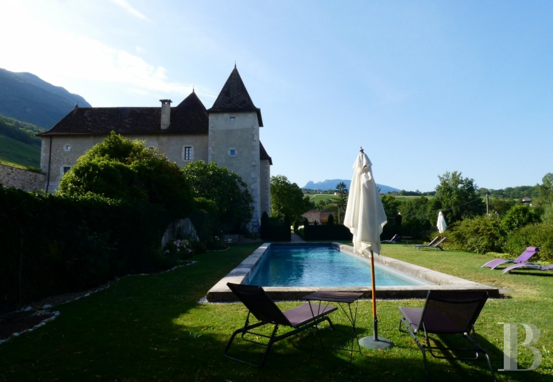 chateaux for sale France rhones alps   - 20