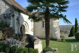 Historic buildings for sale - poitou-charentes - In the Poitou region, a 12th century,- listed church and its 15th century priory