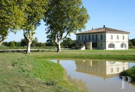 Residences for sale - aquitaine - On the banks of the Garonne,-a vast residence