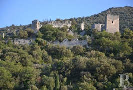 Ruins for sale - provence-cote-dazur - The ruins of a 12th century listed fortress on an emphyteutic lease in the Lubéron mountains